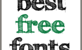 Best Free Fonts | The Postman's Knock