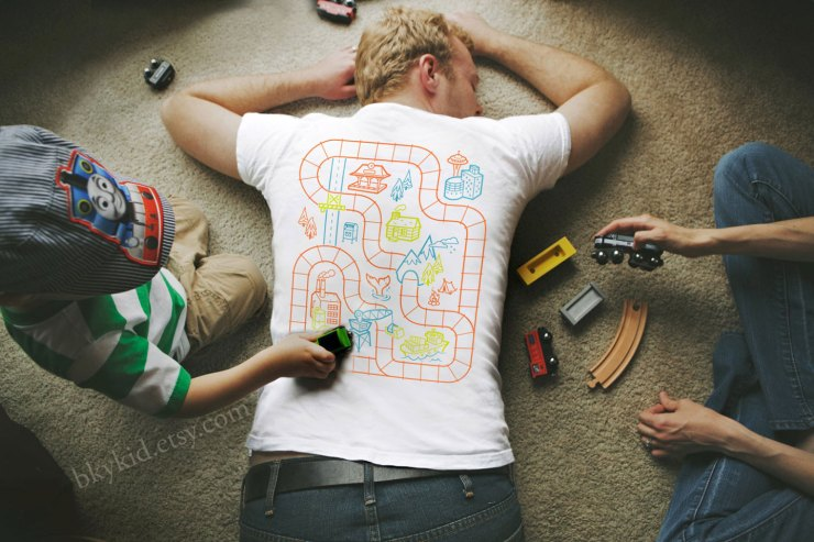 Railroad Play Mat Shirt | The Postman's Knock