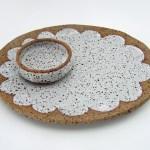 Susan Simonini Plate with Small Bowl
