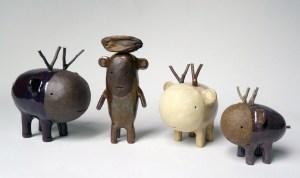 Godeleine de Rosamel Four Creatures