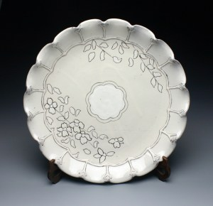 Ben Carter 2 Scalloped Platter