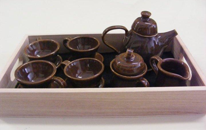 Penni Stoddart mini teapot set