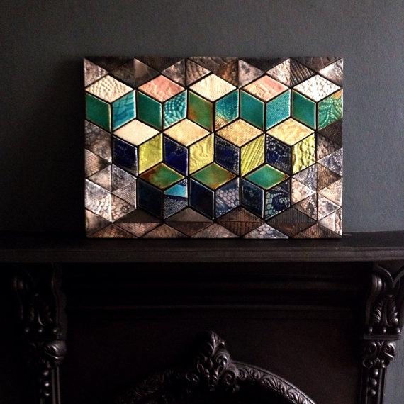 Guy Mitchell Tile Art