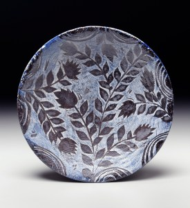 Michael Kline Flowered Plate