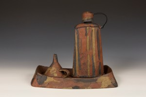 Brice Dyer Flask with Funnel