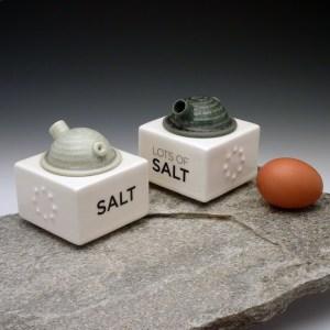 Eric Van Eimeren Salt and More Salt Shakers