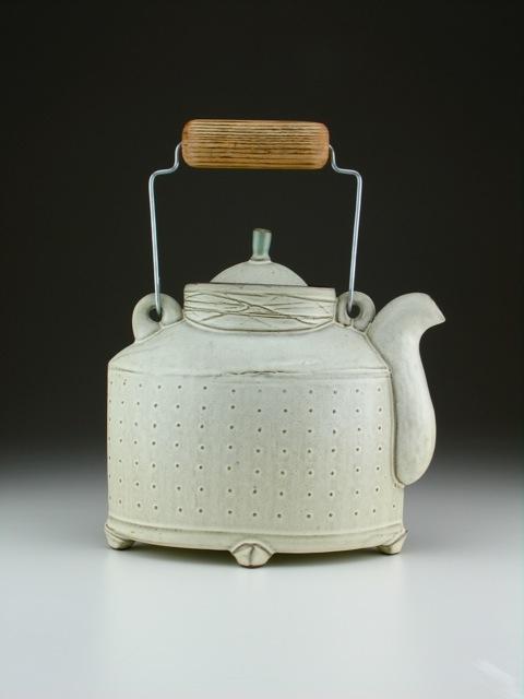 Sarah Pike Blue Teapot
