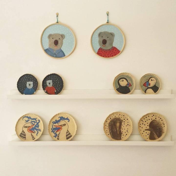 Alison Smiles Plates