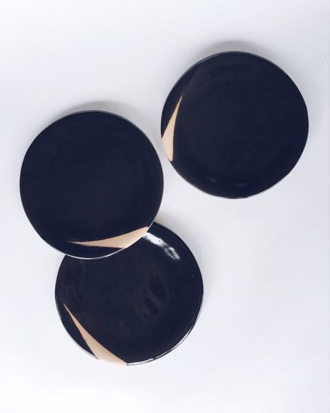 Anna Eaves Black Plates