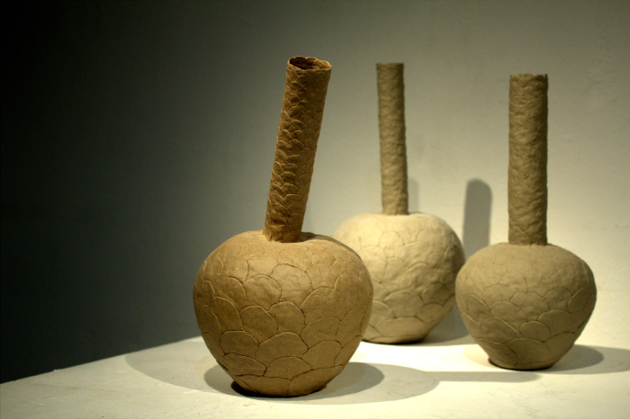 Minah Kim Three Vases