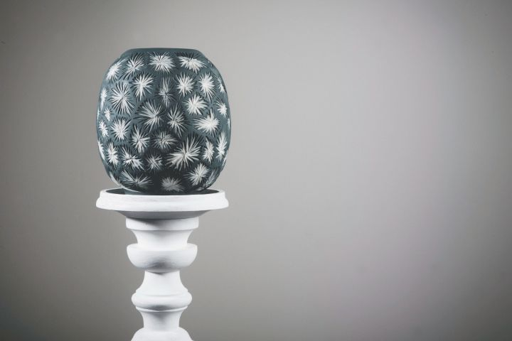 Sarah O'Sullivan Black Vase