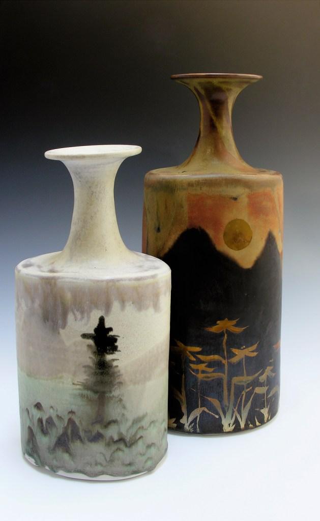 Robin Hopper landscape bottles