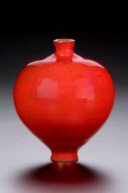 Will McCanless Seagrove Red Vase