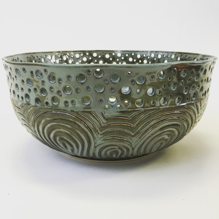 Kim Press Bowl with Holes