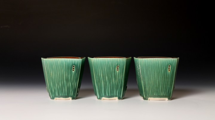 Nick DeVries 3 whiskey tumblers