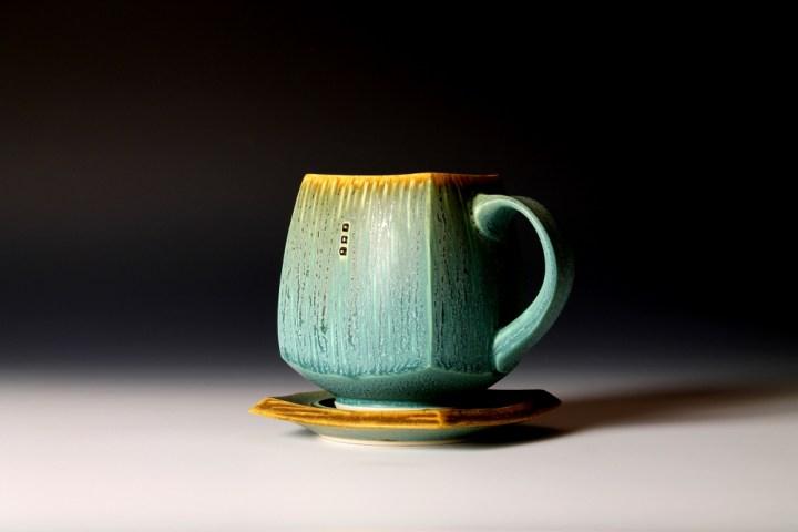 Nick DeVries turq mug saucer2