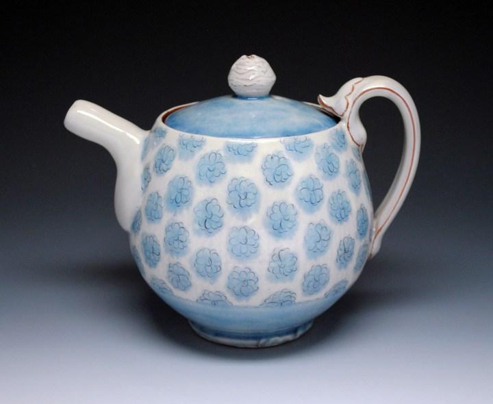 Ben Carter 3 Blue Mum Teapot 1