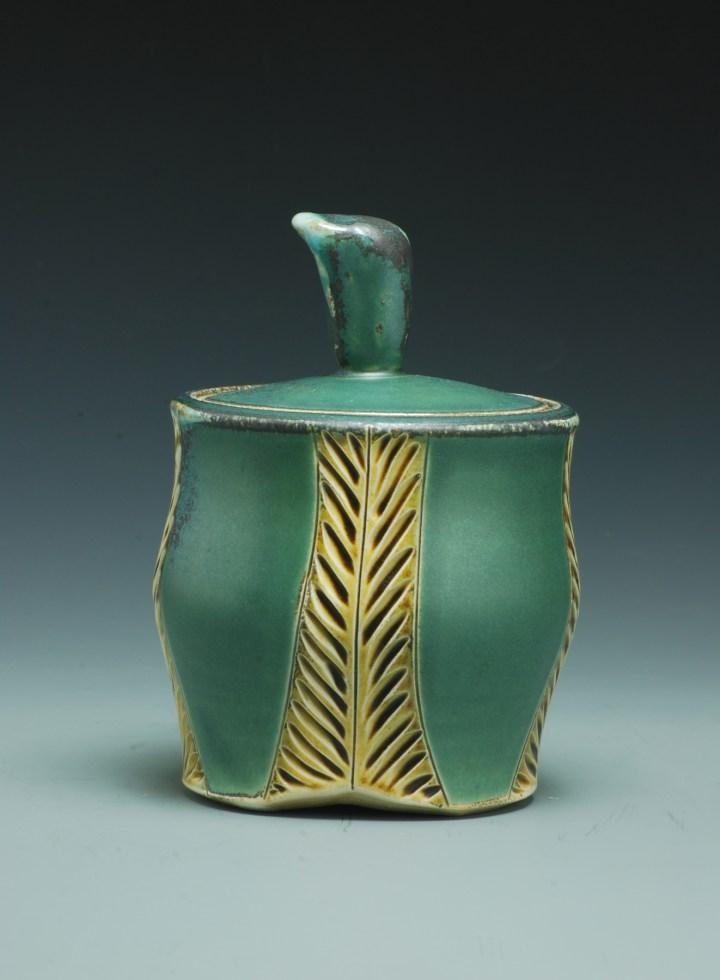 Joy Tanner Carved Jar