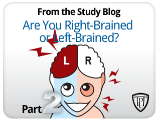 tpt - right or left brain