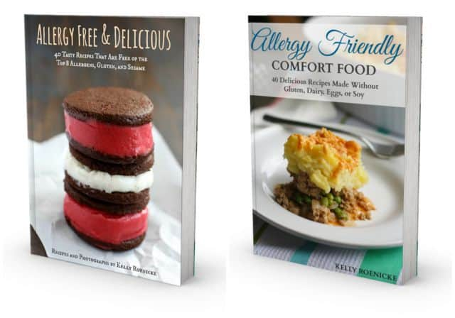 allergy friendly ebooks by Kelly Roenicke