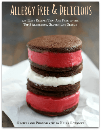 Allergy Free and Delicious is an ecookbook filled with 40 tasty recipes that are free of the top 8 allergens! #glutenfree #dairyfree #eggfree