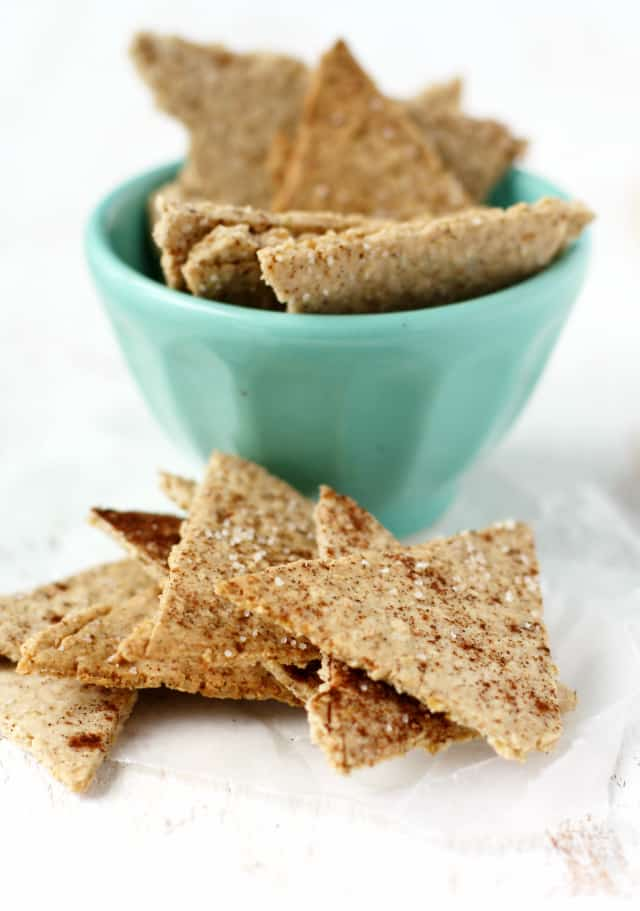 healthy crackers that are lightly sweetened – these oatmeal crackers ...
