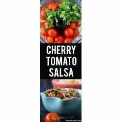 Small Crop Of Cherry Tomato Salsa