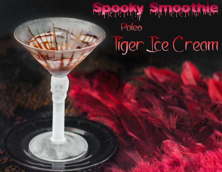 Paleo Tiger Ice Cream Smoothie - www.ThePrimalDesire.com