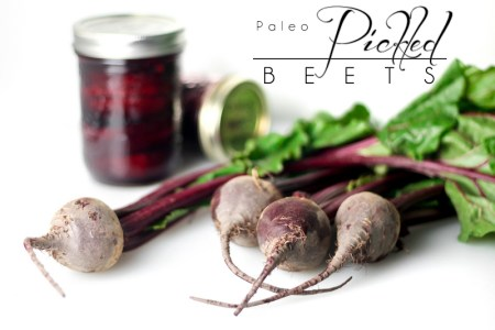 Paleo Pickled Beets - Beautiful, easy, delicious. http://theprimaldesire.com/paleo-pickled-beets/