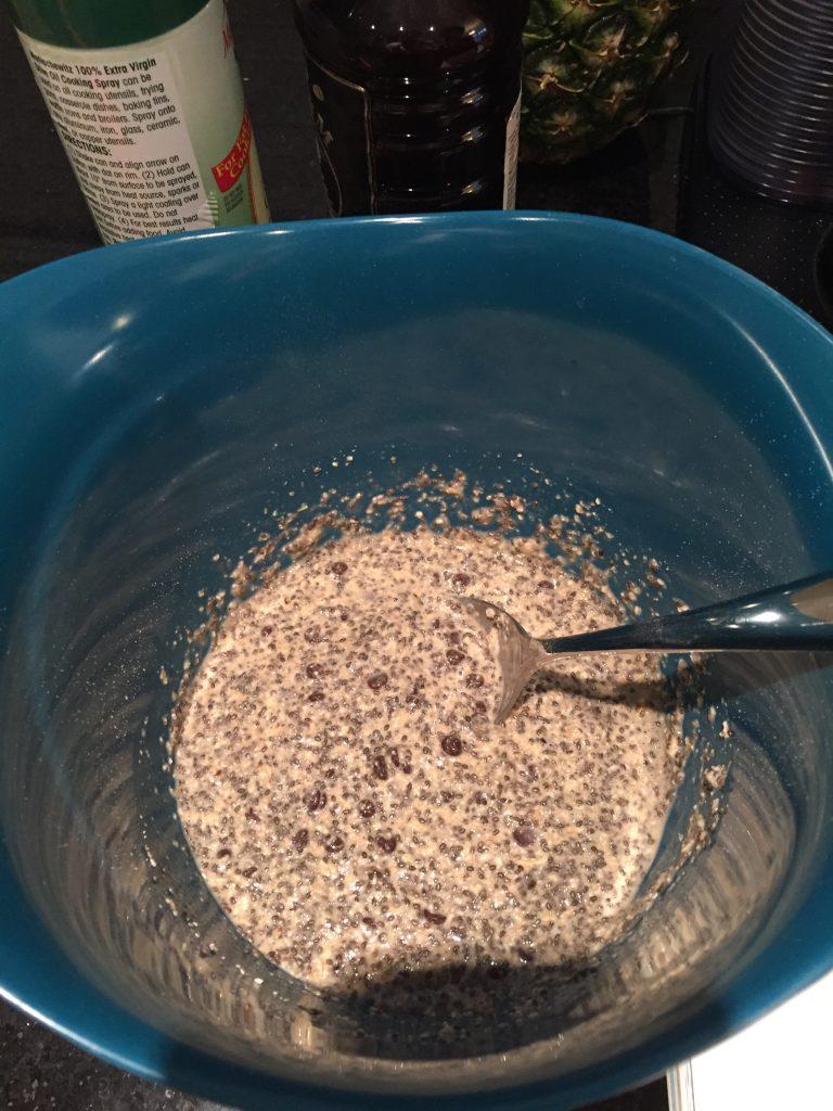 all ingredients for LID vegan gluten free muffins