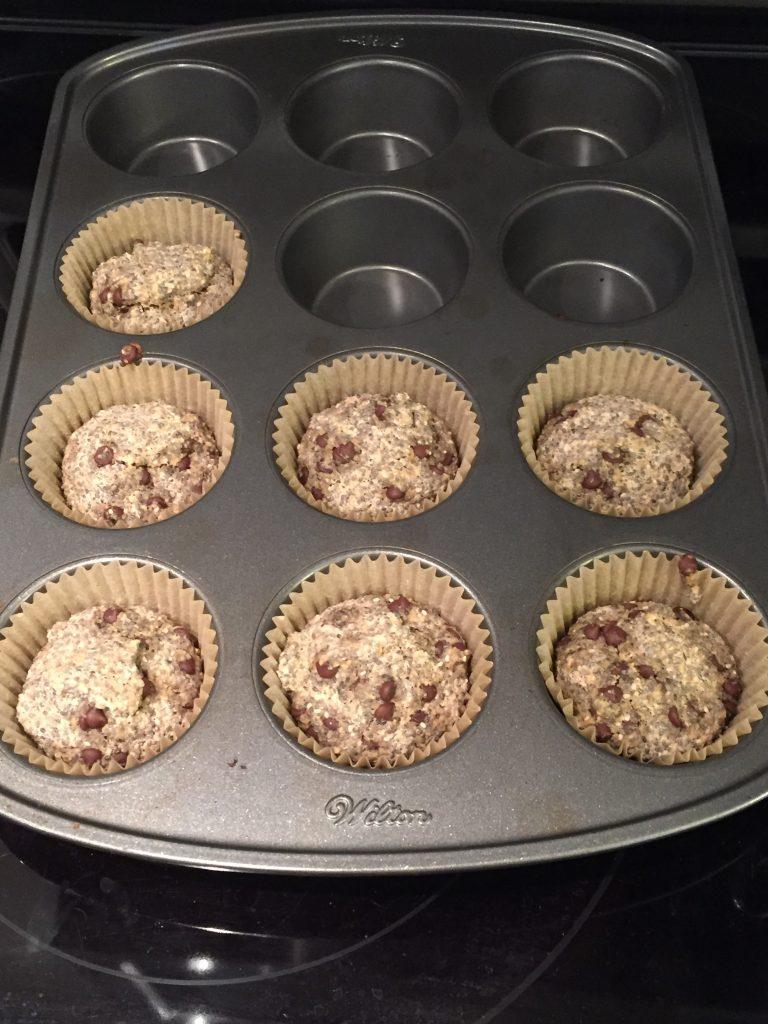 LID vegan gluten free muffins
