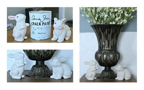 Easter bunnies dollar cheap to super chic for Super cheap home decor