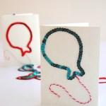 DIY Sequin Birthday Cards