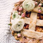 DIY \ Floral Pie Topper & Wreath