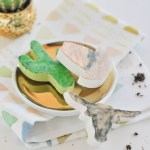 #SaguaroSweets \\ DIY Watercolor Desert Chocolates