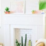 Make It \\ DIY Faux Fireplace