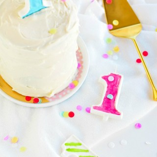 The Weekenders \\ Edible birthday candles by @theproperblog