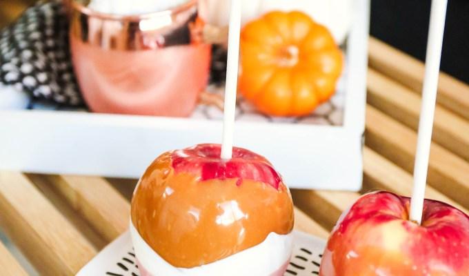 Taste It \\ Pumpkin Spice Caramel Apples
