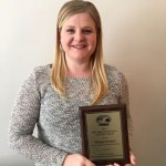Morgan Bennett Receives Professional Nursing Award