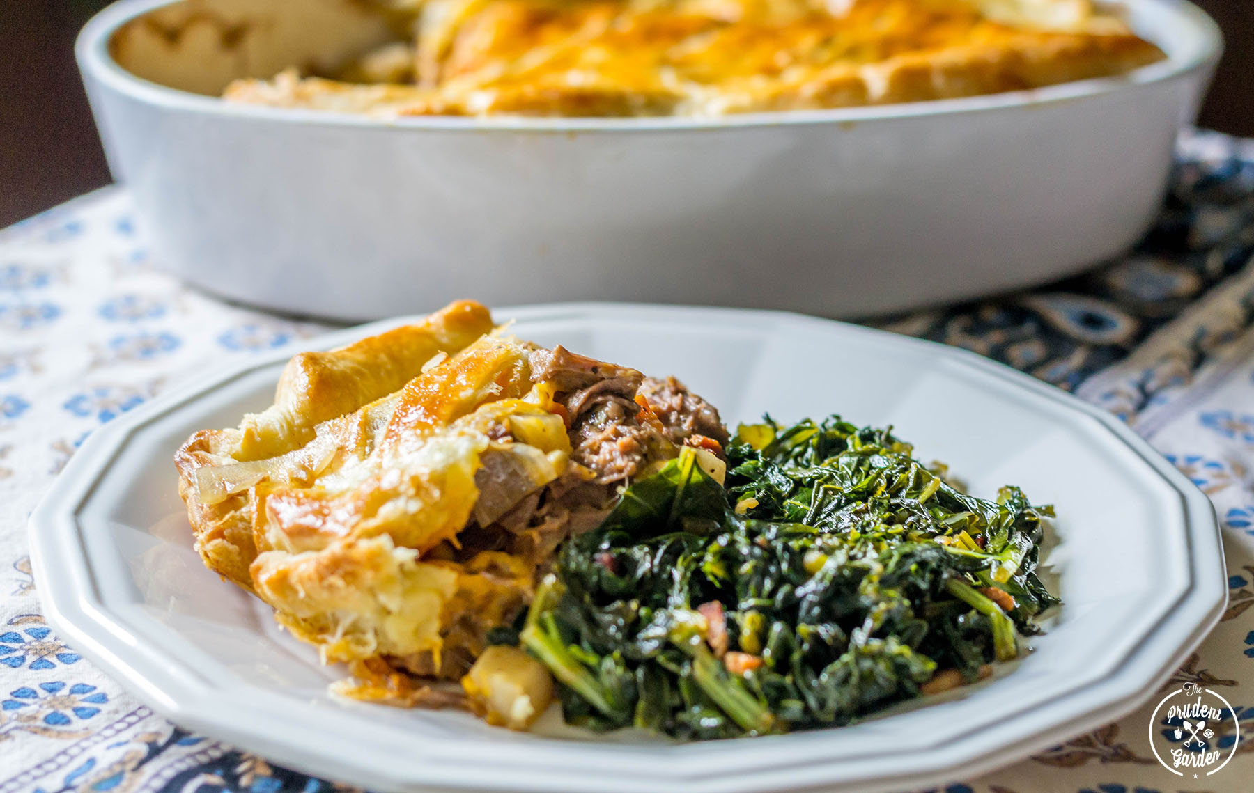 Beef And Beer Pot Pie With Turnips