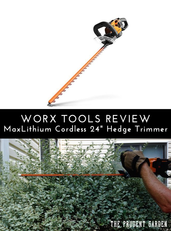 "Looking for a lightweight hedge trimmer? Check out our review of the Worx 56V MaxLithium Cordless 24"" Hedge Trimmer Vs. gas powered hedge trimmers."