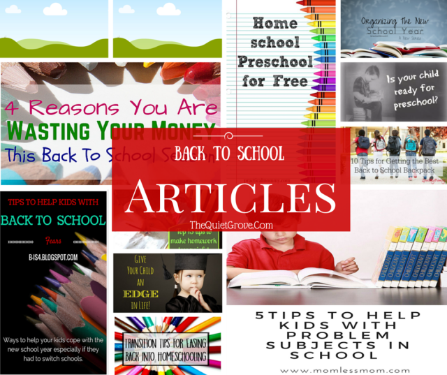The Ultimate Back To School Round Up (Traditional & Homeschool)