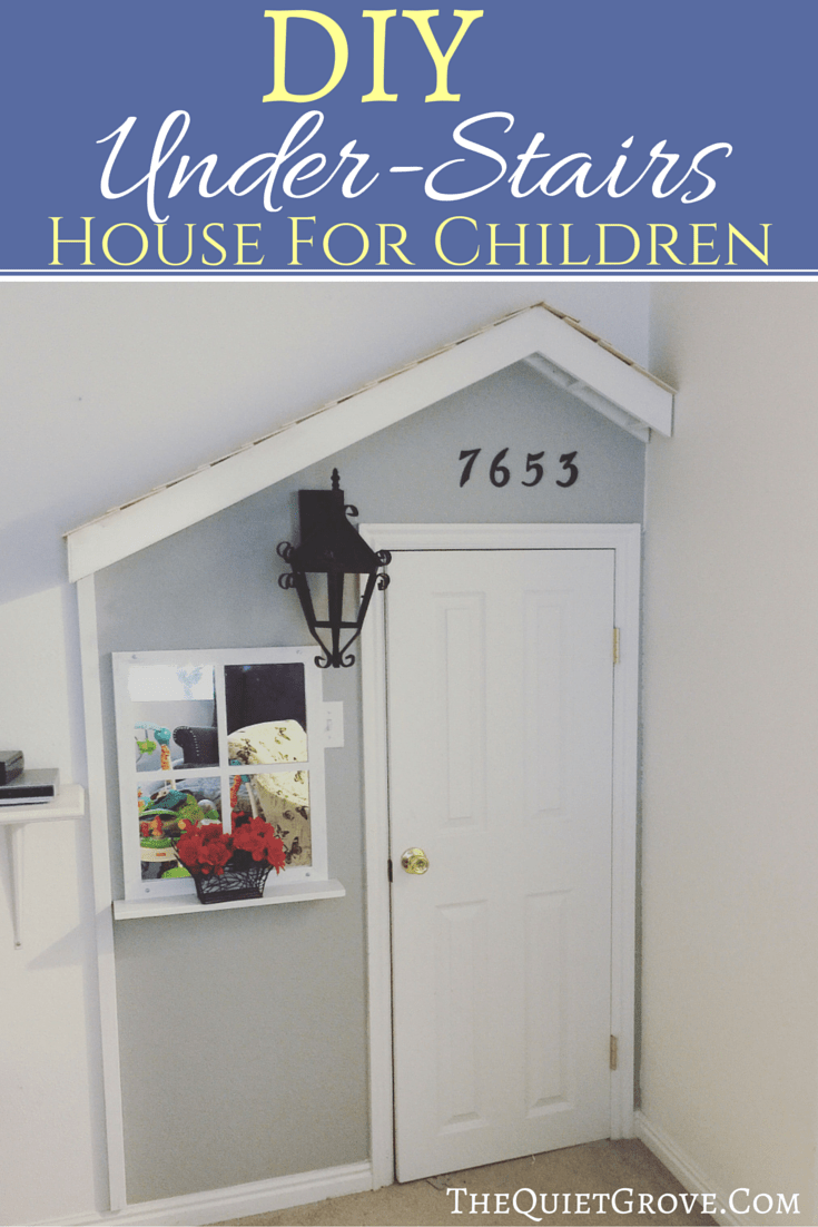 DIY Under-Stairs House for Children
