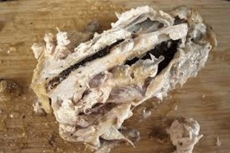 chicken carcass