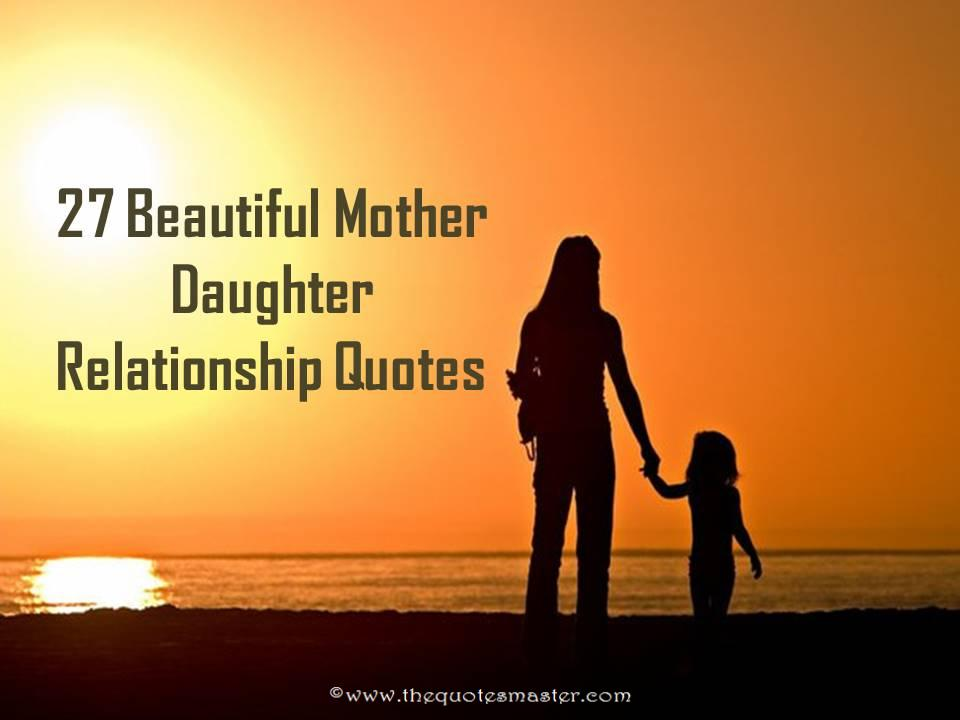 27 beautiful mother daughter relationship quotes. Black Bedroom Furniture Sets. Home Design Ideas