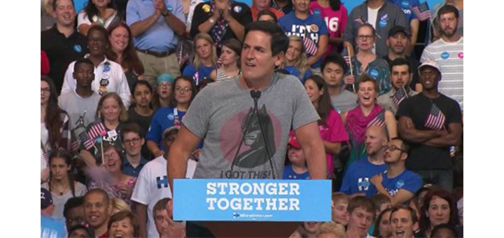 Top Hillary Surrogate Mark Cuban in 2014: I'd cross street to get away from black kid in a hoodie