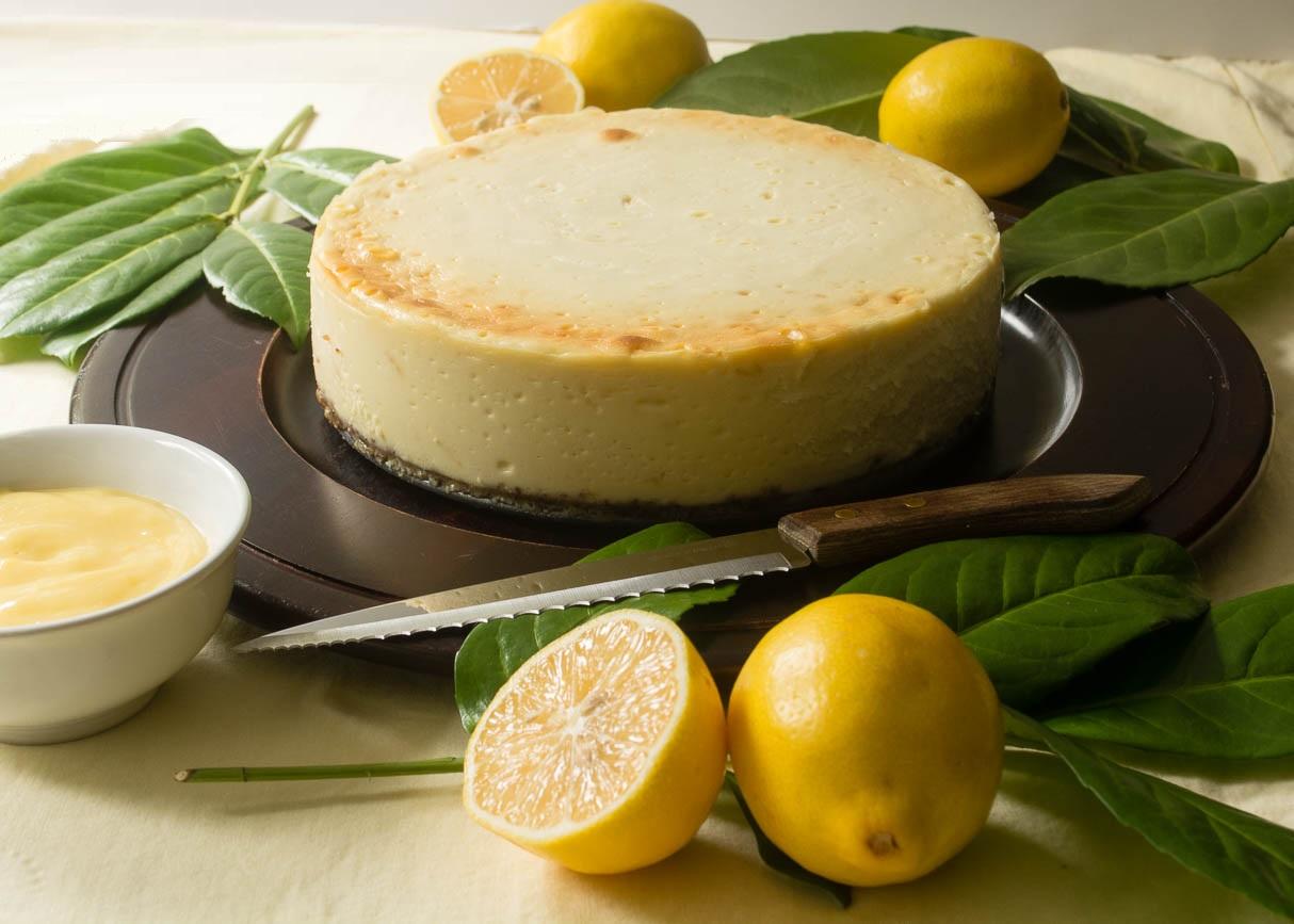 Ricotta Cheesecake with Meyer Lemon Curd | The Ranger's Daughter