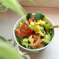 Food Review: Aloha Poke at Amoy Street | Healthy Hawaiian rice and salad bowl in Raffles Place!