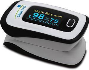 Innovo Delux Fingertip Pulse Oximeter