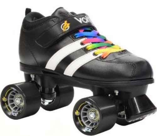 Riedell RW Volt Rainbow Speed Skates